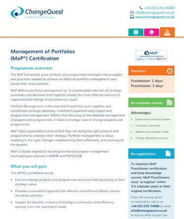 Download course profile PDF