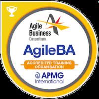 AgileBA Accredited Training Organisation Badge
