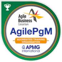 AgilePgM Accredited Training Organisation Badge