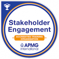 Stakeholder Engagement Accredited Training Organisation Badge