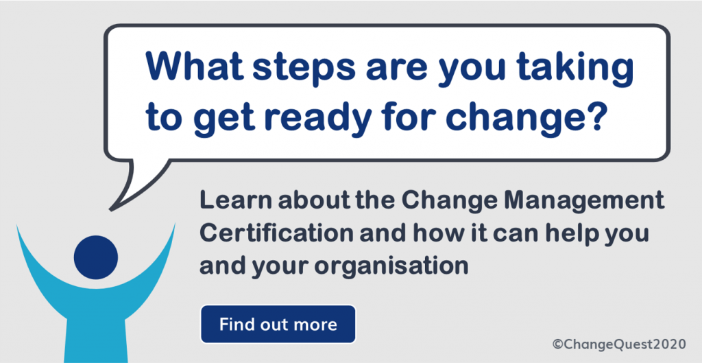 change management certification