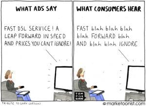 Communication - What ads say and what consumers hear