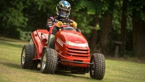 Choosing the right tools - a souped-up lawn mower?