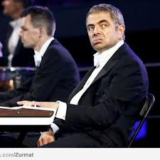 Mr Bean with London Symphony Orchestra at London 2012 Olympic Opening Ceremony